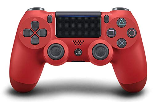 Sony Manette PlayStation 4 officielle, DUALSHOCK 4, Sans fil, Batterie rechargeable, Bluetooth, Rouge