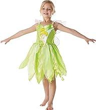 Peter Pan - Disfraz de Hada Campanilla clásico para niña, infantil 3-4 años (Rubie's 881868-S)