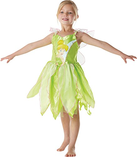 Rubie's-déguisement officiel - Disney- Déguisement Costume Classique Fée Clochette - Taille 5-6 Ans- I-881868M