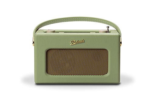Roberts Revival RD70 DAB+ Retro Digitalradio mit Bluetooth Leaf