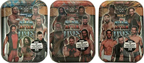 Slam Attax Topps - WWE Live - Mini Tin 3er Set