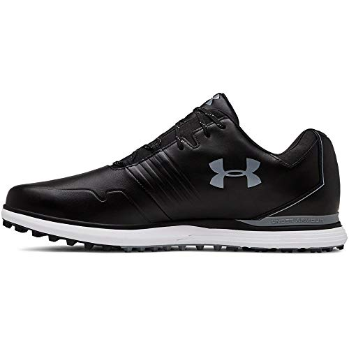 Under Armour Men's Showdown Golf Shoe, Black (001)/Black, 9 M US