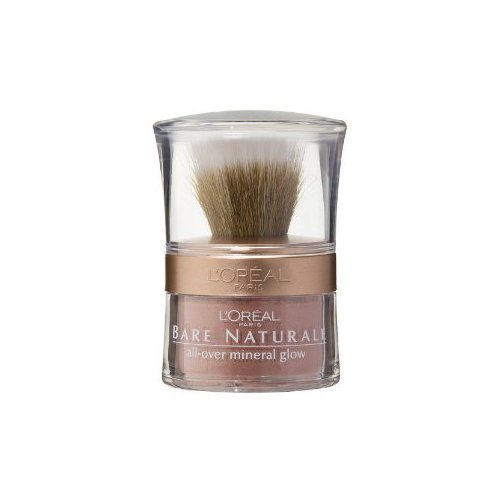 L'oreal Paris True Match Naturale All-over Mineral Glow, Rose Glow, 0.15 Ounc...