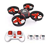 ATTOP Mini Drone for Kids and Beginners- Easy Remote Control Drone, One Key Take Off/Auto-Pairing/Altitude Hold/Throw to Fly Kids Drone, 2-Speed Setting with 3 Batteries Ideal Gift for Kids