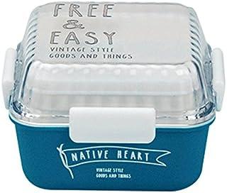 FREE&EASY スクエア MCランチ クリアターコイズ 43-76431-2