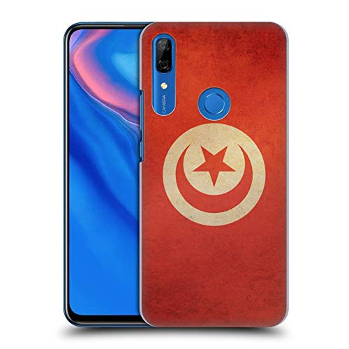 Head Case Designs Tunisia Tunesisch Vintage Fahnen 6 Harte Rueckseiten Huelle kompatibel mit Huawei P Smart Z / Y9 Prime (2019)