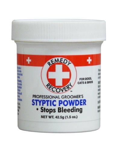 DOGSWELL Remedy+Recuperación Styptic Blood Stopper Polvo para Perros y Gatos 1.5 oz Contenedor ✅