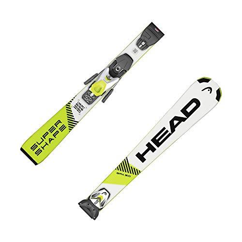 HEAD Kinder Ski Supershape SLR Pro/SLR 7,5 GW inkl. Bindung Weiss/gelb (906) 150