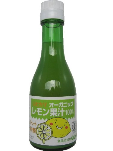 ヒカリ オーガニックレモン果汁 180ml