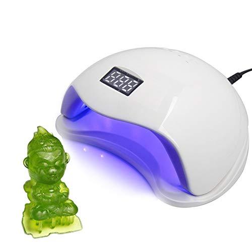 WZCXYX Accesorios De Impresora 3D De Fotopolimerización Lámpara De Curado Posterior De Impresión Lámpara Ultravioleta De Longitud De Onda 405 UV