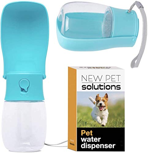 NEW PET SOLUTIONS X1 Pet Water Bottle is The World's Most Compact Pet Water Dispenser When Folded - and is Larger Than Many Portable Dog Water Bottle dispensers When Unfolded. It's Magical.