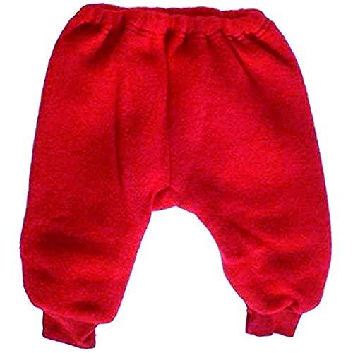 Engel Naturkleidung 573600 Bio Baby Hose Wolle kbT Fleece kirsch rot Gr. 50 / 56