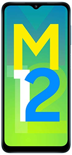 Samsung Galaxy M12 (Blue,6GB RAM, 128GB Storage) 6 Months Free Screen Replacement for Prime