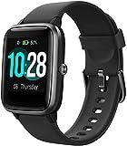 Smartwatch,Zoll Touch-Farbdisplay Fitness Armbanduhr Smart Watch mit Schrittzähler,Schlafmonitor,Stoppuhr für Damen Herren