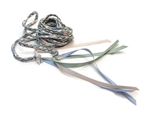 Elegant Element Rhinestone Tree of Life Wedding Handfasting 6ft Cord #DivinityBraid #Celtic #Handfasting #TreeofLife #Wedding
