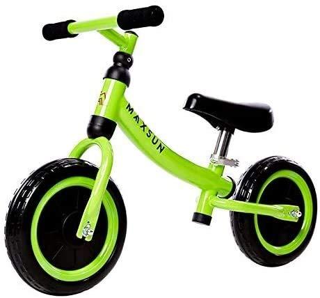 Balance Bike, kein Pedal-Kleinkind-Bike Walking Training Bike mit verstellbarem Sitz Leichter Rutschfeste verschleißfeste Stoßdämpfung Jungen und Mädchen Indoor Outdoor Geburtstags-Geschenk lalay