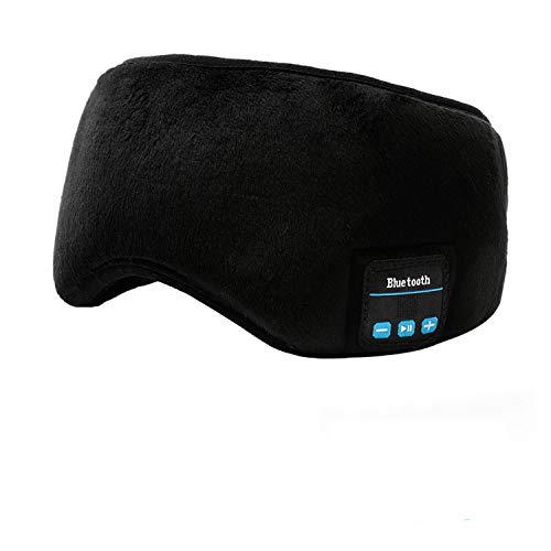 Masque De Sommeil Bluetooth Casque - Navly Musique Sommeil Masque,Ultra Mince Haut-Parleurs,Ultra...