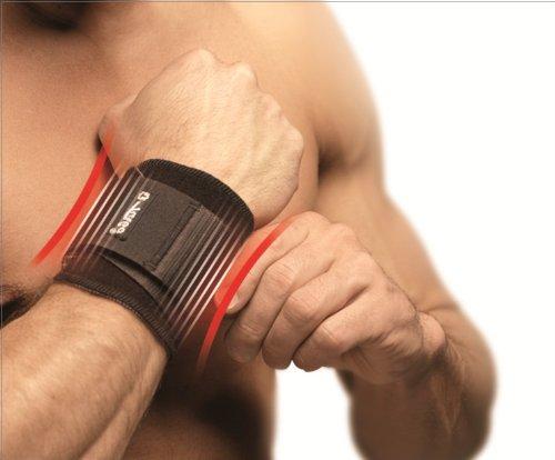 TURBO Med Handgelenkbandage mit Spannriemen bei Überlastung Sehnenscheidenentzündung Arthrose HAUT TM850-33