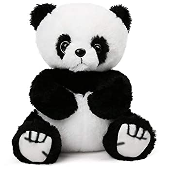 8   Panda Stuffed Animals Soft Cuddly Baby Panda Plush Toy Gift for Kids Toddlers on Birthday Easter Party Favors