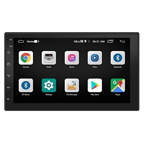 WXGY Radio De Coche, Navegación GPS Bluetooth, Receptor De Audio Estéreo Automático, Pantalla De Condensador De Coche HD De 7 Pulgadas, Para Android 8.1