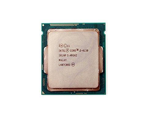 Intel Core i3-4130 3.40 GHz 3M Cache Processor SR1NP 3.40GHz Escritorio Negro Puesto de Trabajo