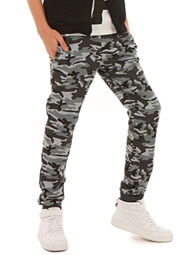 Dykmod Camouflage Militär Jungen Hose Skate hk216 134 Camouflage 2