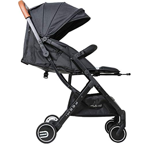 Buy Bargain DZFZ Strollers for Toddlers Lightweight Portable Folding Baby Stroller Can Sit Reclining...
