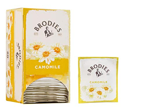 Brodies - Camomile Herbal Tea: Relaxing Infusion Without Caffeine - 20 Bags