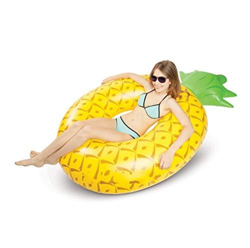 IF.HLMF Anillos de natación inflables de piña anillo de natación piscina flotador barco inflable para la diversión de adultos o niños nadar fiesta juguete