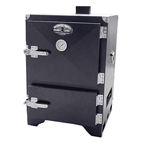 Best Deals! Backwoods Chubby 3400 Outdoor Charcoal Smoker