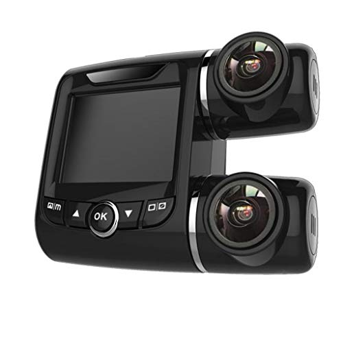 FINME Dash Cam Dual FHD 1920x1080P Front and Cabin Dash Camera for Cars Truck Taxi (Black) Cover Shops Swimsuits Ups