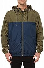 O'NEILL Men's Light Weight Rain Windbreaker Jacket, Navy/del ray, S