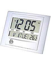 KKmoon Multi-function Electronic Temperature Meter Digital Calendar Wall Clock Alarm Clock