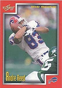 1999 Score Football #178 Andre Reed Buffalo Bills Official NFL Trading Card From The Pinnacle Company