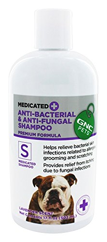 GNC Pets® Medicated Anti-Bacterial & Anti-Fungal Shampoo