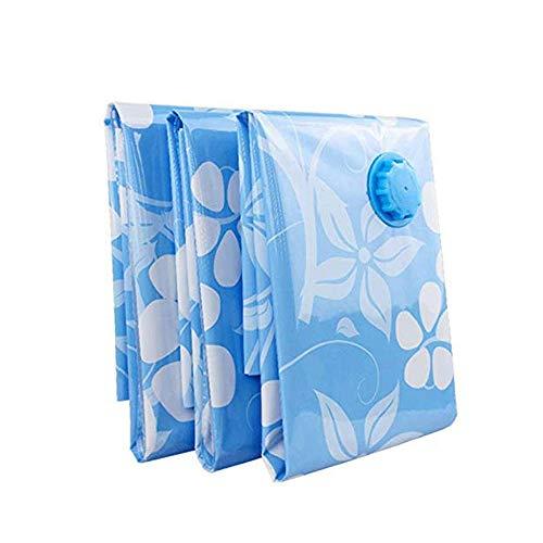 DYXYH Bolsa de Almacenamiento- [Paquete de 5] Bolsas de Almacenamiento al vacío, 80 x 100 cm Reutilizables for Ropa de Cama, edredón Doble, Almohadas, colchón, edredón, Ropa