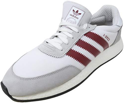 adidas I-5923 Zapatillas casuales para hombre, Blanco (Borgoña; blanco.), 44 EU