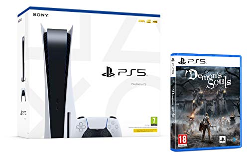 PS5 Konsole Sony PlayStation 5 - Standard Edition, 825 GB, 4K, HDR (Mit Laufwerk) + Demon's Souls