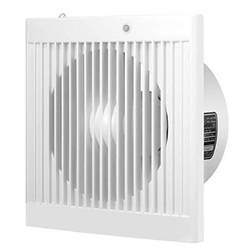 ASYCUI ventilatieextractor voor buiten, lage ruis, afzuigkap huishouden, 6 inch venstertype, ventilator voor keuken, badkamer, ventilator.