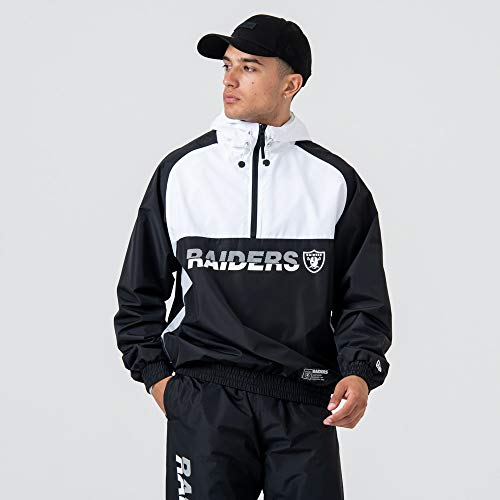 New Era Herren Oakland Raiders Windjacke, Black, S