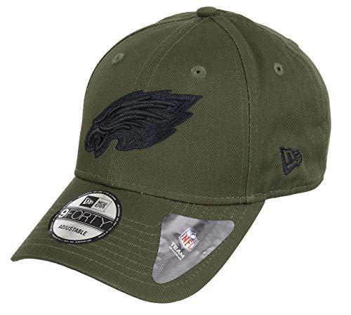 New Era Philadelphia Eagles 9forty Adjustable Cap - NFL Olive Pack - Olive - One-Size