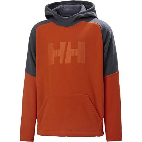 Hellyhansen Daybreaker - Sudadera con Capucha para niños, diseño de Patrulla, Color Naranja