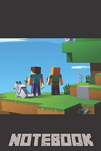 Notebook: A Journal Notebook for Any Minecraft Lover and Minecrafter For School Or Personal Use