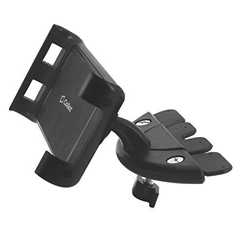 Cellet Tablet Car Mount Holder, CD Slot Car Mount by Cellet- for Samsung Galaxy Tab, Kindle Fire, Nexus, Nintendo Switch, Ipad 1/2/3/4/Mini/Air, Tablets