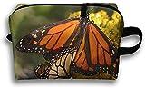 Monarch - Bolsa de viaje, diseño de mariposas
