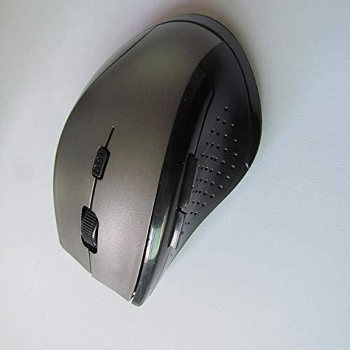 Lorenlli 7300A - Mini ratón óptico inalámbrico USB para Ordenador portátil
