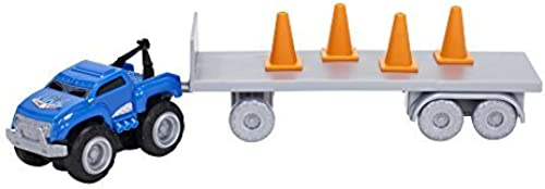 Max Tow Truck Mini Haulers Tow and Go Packs Blau Tow Truck with Tire Accessories by Max Tow Truck