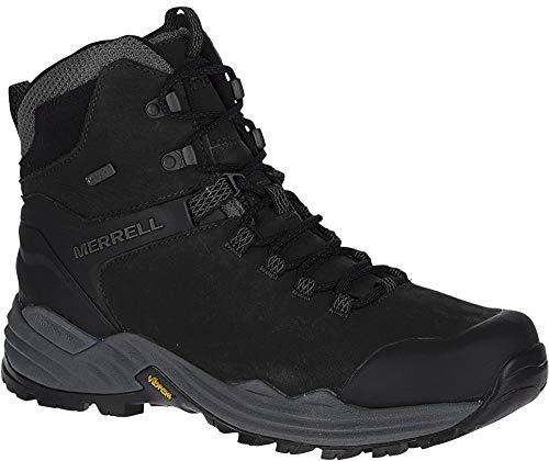 Merrell Men's PHASERBOUND 2 Tall Waterproof Hiking Shoe, Black, 09.0 M US