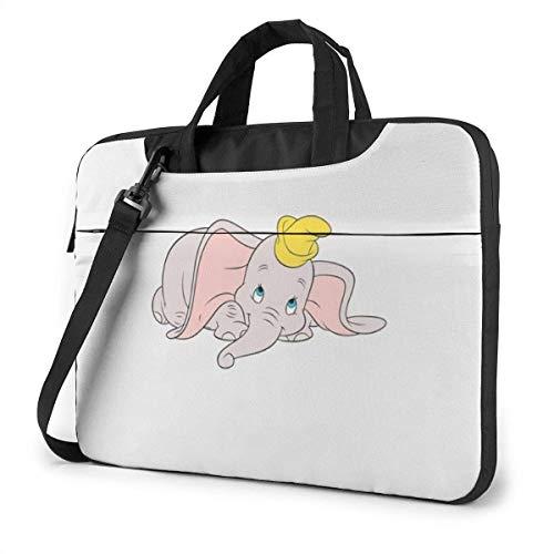 15.6 Inch Laptop Shoulder Bag Dumbo Laptop Briefcase Shoulder Messenger Bag Case Sleeve LAPT-073