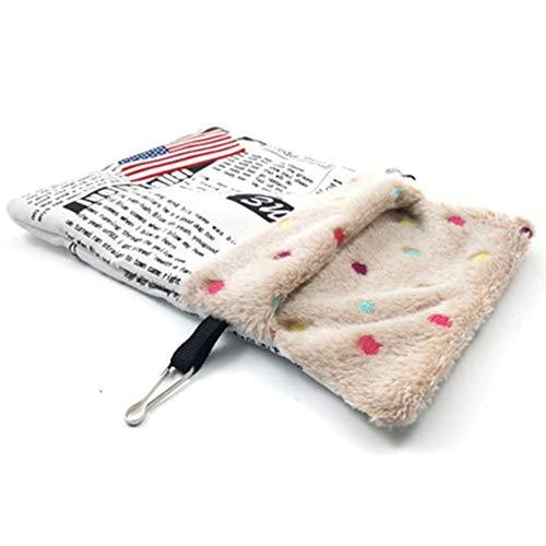 Ratti Hamster Winter bed Nest Pet slaapzak voor eekhoorns, cavia's, papegaaien kleine dieren wintermaan house cage Small